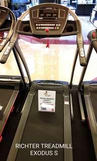 DP 0% RICHTER EXODUS S Treadmill  kredit Tanpa CC