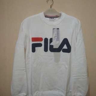 Crewneck / Sweater Classic Filla White