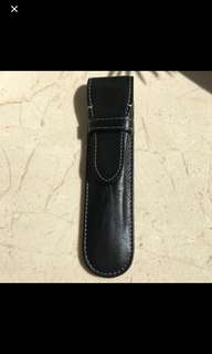 Authentic Links Of London Leather Black Pen Pouch