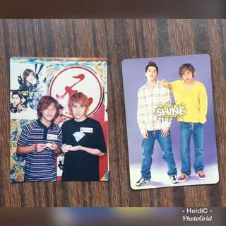 包郵- Yes card - shine (剛出道)(相及卡)