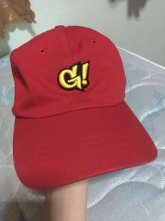 GNARLY RED DAD HAT