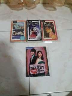 3 used Wattpad Books
