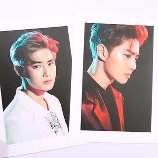 EXO Suho Exordium official postcard