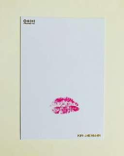 Wanna One MD 金在奐唇咭