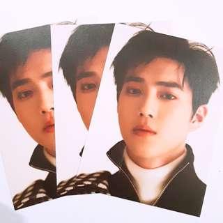 EXO Suho forlife postcard