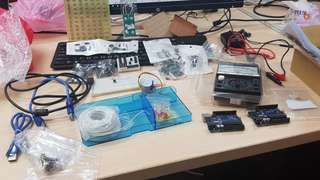 Arduino UNO r3 空氣偵測 溫濕度監控