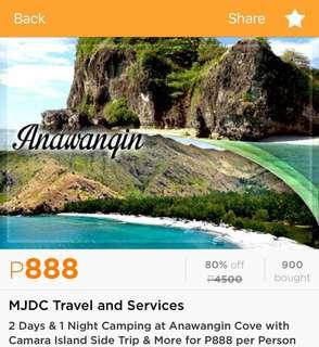 2d 1n Anawangin Cove