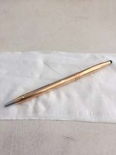Cross lady's 14k 'gold-filled' ballpoint
