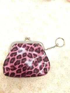 粉紅豹紋散子包