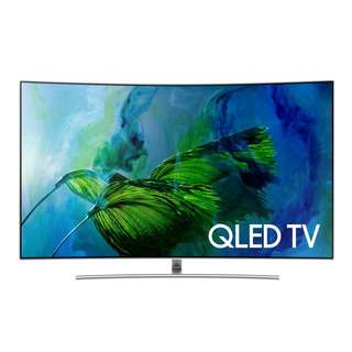 "Samsung QA55Q8CAMK 55"" QLED 4K Curved Smart TV"