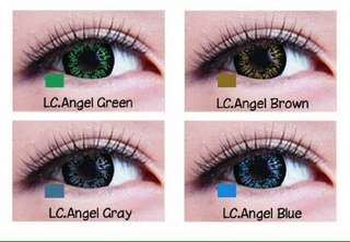 SOFTLENS LIVING COLOUR GREY 2 TONE