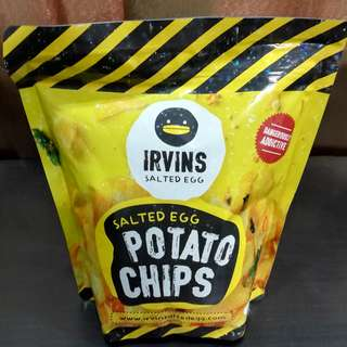 [EXTENDED RAYA PROMOTION] 1 Small ORIGINAL Irvins Salted Egg Potato Chips for RM38.00 [READY STOCK & INCLUSIVE POSTAGE]