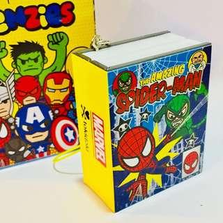 Tokidoki x marvel comic book  frenzies - spiderman