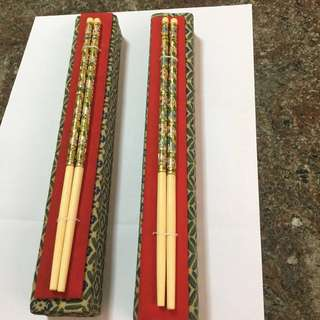 Ivory Chopstick (2 Pairs)