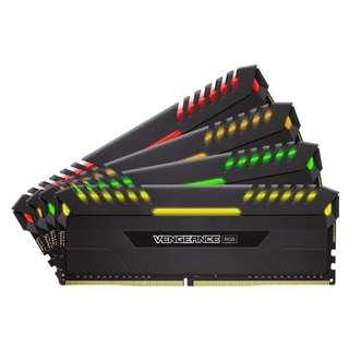 Corsair 3333MHz 32GB (4 x 8GB) DDR4 DRAM Vengeance® RGB