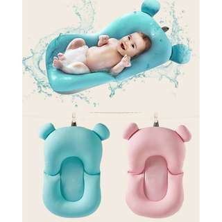 🚚 🔥Hot item! Soft Baby Bath Cushion/Pillow - Never worry about bathing a newborn! 👶
