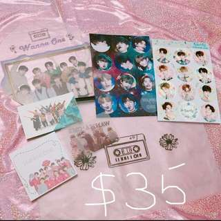 (滿$30包郵)Wanna One set(2)