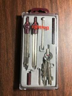 Rotring Centro Compass Set Pack