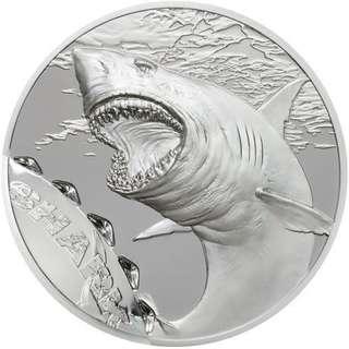 shark silver coin