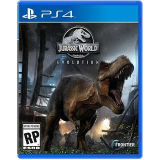 [Jul 03] PS4 Jurassic World Evolution Sony PlayStation Strategy Games