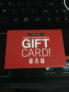 🚚 Frasers Centrepoint malls $20 gift card