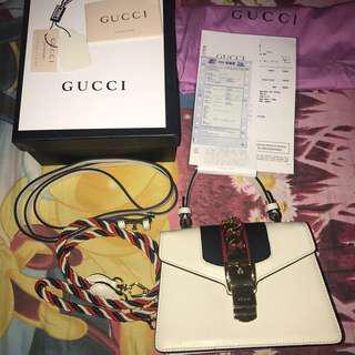 Gucci Leather Sylvie Mini *URGENT