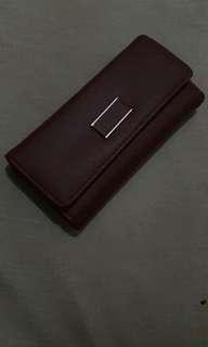 Preloved dompet  merah maroon