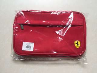 FERRARI Toiletry Bag [Brand New]