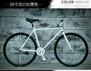 🔥BNIB  30mm Fixie (Black and White)