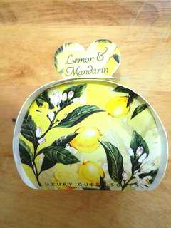 英國著名品牌沐浴皂 檸檬柑橘味