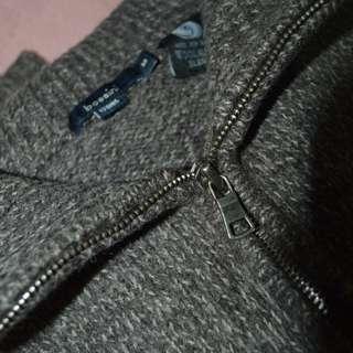 BOSSINI wool mark knit  -Grey