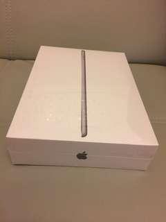 全新2017 iPad 128GB wifi 黑色 未開封 行貨