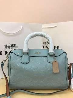 Coach Mini Bennett Satchel Original Coach women Handbag sling bag