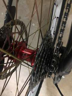 CLEARANCE!!! Da Bomb Customised Rims Hope Pro 2 Evo 40T Wheelset