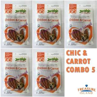 Jerhigh Chicken and Carrot COMBO 5