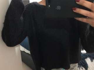 Dotti black knit jumper