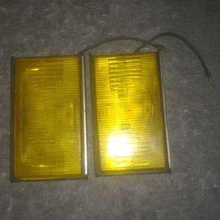 Spot light Kuning sesuai untuk Nissan sentra n13 Toyota ae100 ae101 seg we limited ae86 ae85 ke70 saga iswara datsun