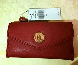 Tommy hilfiger wallet red