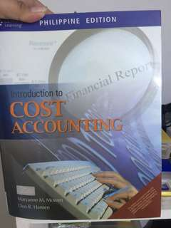 Cost Accounting - Mowen