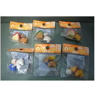 Iwako Erasers from Japan Puppy Set of 6 pieces Import from Japan