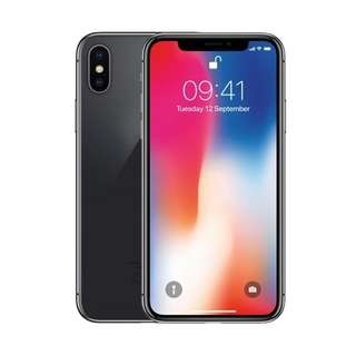 【SEALED/BRAND NEW】iPhone X Space Grey 256GB
