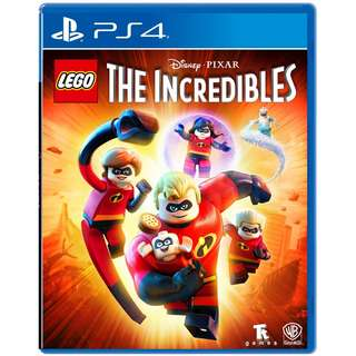 [NEW NOT USED] PS4 LEGO The Incredibles Sony PlayStation Warner Home Video Action Games