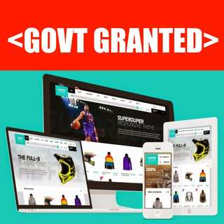 <GOVT GRANT> Your New Ecommerce Website Design Can Be Funded!