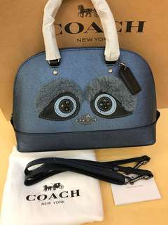 Coach Mini Sierra panda Ready Stock