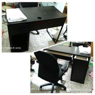 高級電腦桌椅組