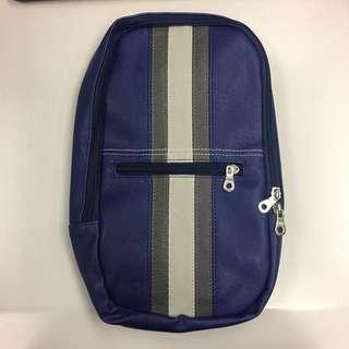 🆕藍色硬皮鈄揹袋 Blue Bag 實用袋