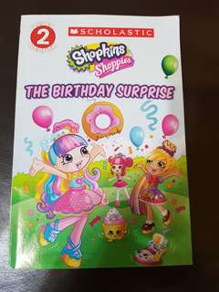 Shopkins the birthday surprise