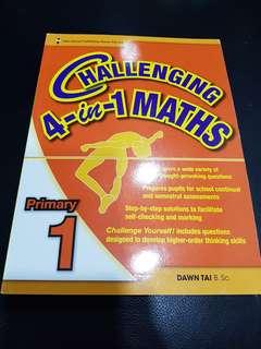 Challenging 4 in 1 Maths (Pri. 1)