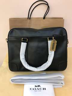 Coach ready Stock briefcase Shoulder bag handbag