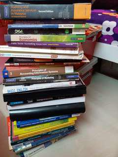 [CLEARANCE] COLLAGE / UNIVERSITY TEXTBOOKS